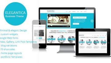 Download Elegantica - Responsive Business Wordpress Theme Free