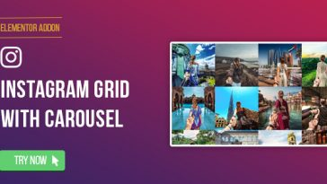 Download Elementor Page Builder Instagram Social Stream Grid With Carousel - Free Wordpress Plugin