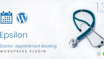 Download Epsilon Doctor Appointment Booking Wordpress Plugin - Free Wordpress Plugin