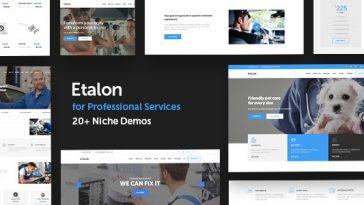 Download Etalon - Multi-Concept Theme for Professional Services Free