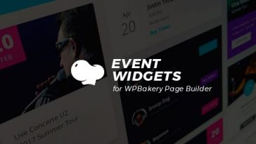 Download Event Widgets for WPBakery Page Builder (Visual Composer)  - Free Wordpress Plugin