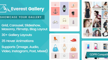 Download Everest Gallery Responsive WordPress Gallery Plugin - Free Wordpress Plugin