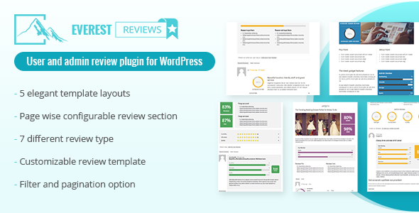 Download Everest Review Post / Page / Custom post type Review plugin for WordPress by User and admin - Free Wordpress Plugin