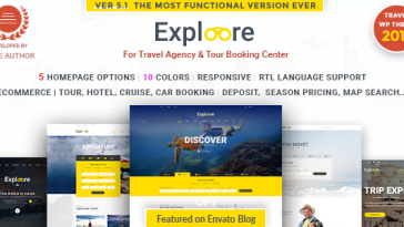 Download EXPLOORE Travel v.5.5.2 - Tour Booking Travel Free