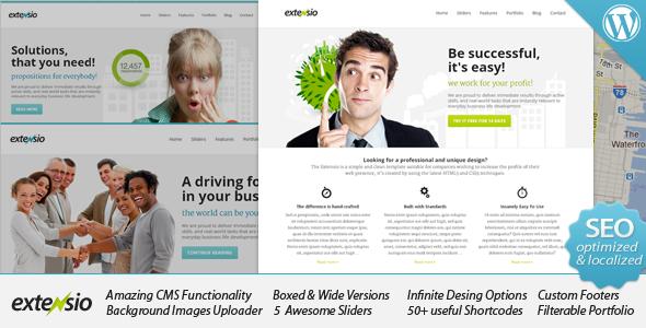 Download Extensio - Elegant and Minimal Business WordPress Free