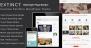 Download Extinct - Retro Vintage Portfolio WordPress Theme Free