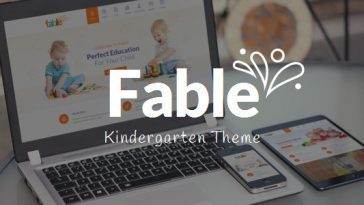 Download Fable - Children Kindergarten WordPress Theme Free