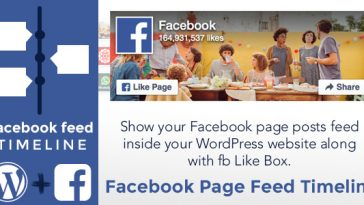Download Facebook Page Feed Timeline WordPress Plugin - Free Wordpress Plugin
