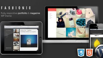 Download Fashionic - Portfolio/Magazine WordPress Theme Free