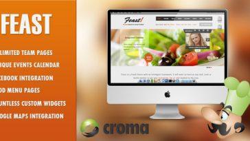 Download Feast - Facebook Fanpage & WordPress theme Free