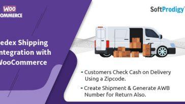 Download Fedex shipment for woocommerce  - Free Wordpress Plugin