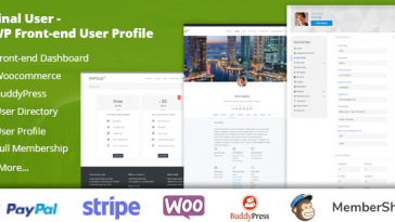 Download Final User WP Front-end User Profiles - Free Wordpress Plugin