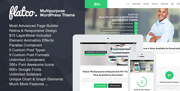 Download Flatco v.4.3 - Multipurpose & Responsive WordPress Theme Free
