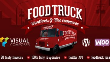 Download Food Truck & Restaurant 20 Styles v.5.5.4 - WP Theme Free