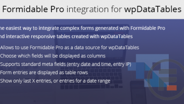 Download Formidable Forms integration for wpDataTables  - Free Wordpress Plugin