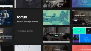 Download Fortun v.3.4.1 - Multi-Concept WordPress Theme Free