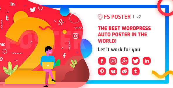 Download FS Poster WordPress auto poster & scheduler - Free Wordpress Plugin