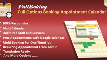 Download FullBooking Full Options Appointment Booking and Scheduling for Wordpress - Free Wordpress Plugin