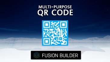 Download Fusion Builder Multi-Purpose QR Code Generator Element Addon for Avada v5  - Free Wordpress Plugin