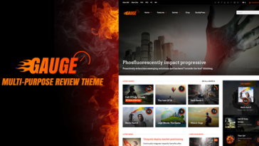 Download Gauge - Multi-Purpose Review Theme Free