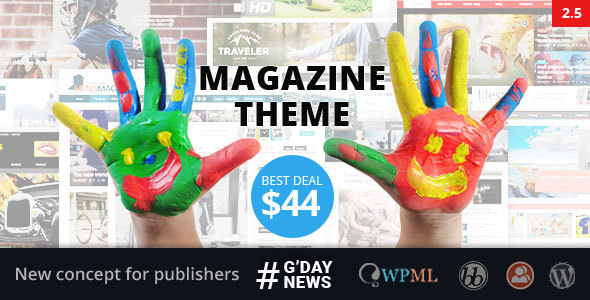 Download GDN - Magazine Theme Free