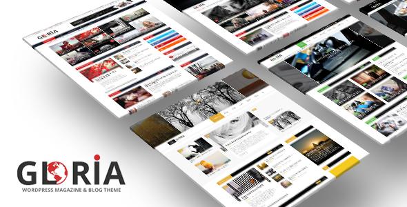 Download Gloria - Multiple Concepts Blog Magazine WordPress Theme Free