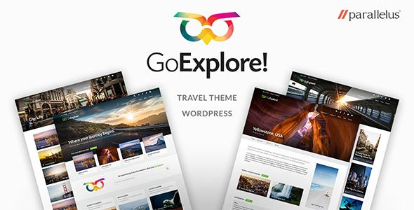 Download GoExplore! - Travel WordPress Theme Free