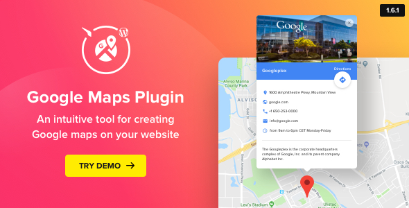 Download Google Maps  WordPress Map Plugin - Free Wordpress Plugin
