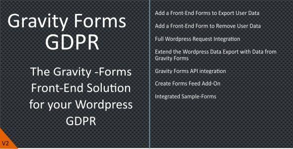 Download Gravity-Forms GDPR   - Free Wordpress Plugin