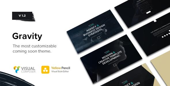 Download Gravity - Multi-Purpose Coming Soon Theme Free