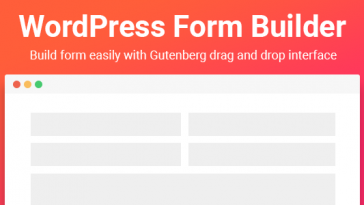 Download Gutenberg Form Builder  - Free Wordpress Plugin