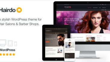 Download Hairdo v.5.4.3 - Hair Salon & Barber Theme Free