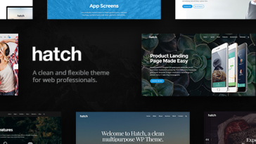 Download Hatch v.5.6 - MultiPurpose WordPress Theme Free