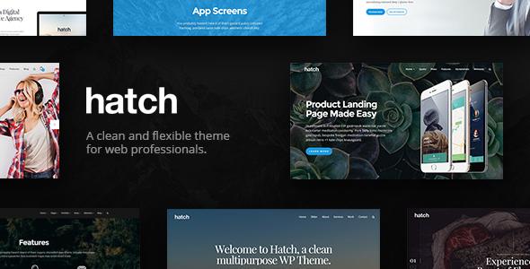 Download Hatch v.5.6 - MultiPurpose WordPress Theme Free