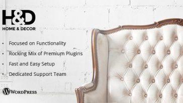 Download H&D - Interior Design WordPress Theme Free