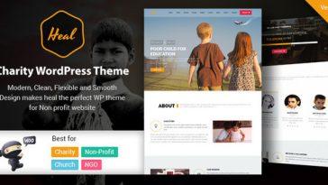 Download Heal - Multipurpose Charity WordPress Theme Free