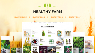 Download Healthy Farm - Food & Agriculture WordPress Theme Free