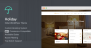 Download Holiday v.1.2.4 – Hotel WordPress Theme Free