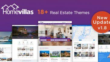 Download Home Villas v.5.5 - Real Estate WordPress Theme Free