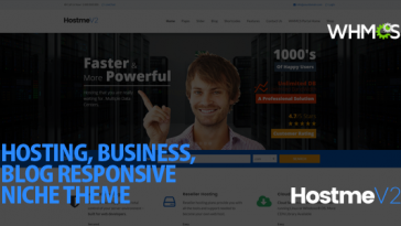 Download Hostme v2 - Responsive WordPress Theme Free