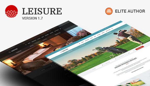 Download Hotel Leisure - Hotel WordPress Theme Free