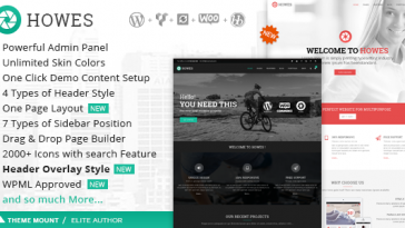 Download Howes v.3.4. - Responsive Multi-Purpose WordPress Theme Free