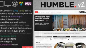 Download Humble v.2.0.1 - Responsive Multi-Purpose Drag n Drop Theme Free