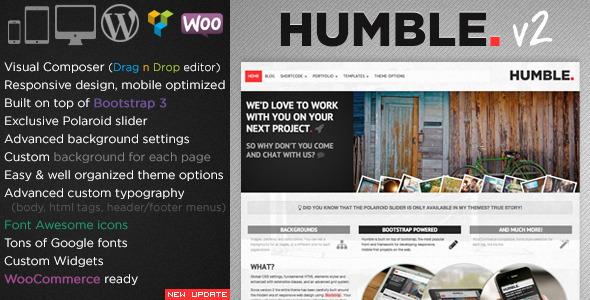 Download Humble v.2.0.1 - Responsive Multi-Purpose Drag n Drop Theme Free