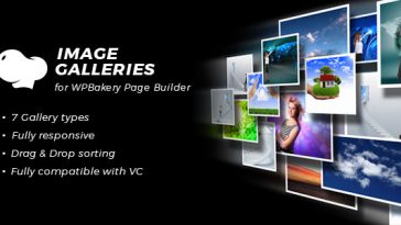 Download Image Galleries for WPBakery Page Builder (Visual Composer)  - Free Wordpress Plugin