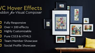 Download Image Hover Effect Addon For Visual Composer  - Free Wordpress Plugin