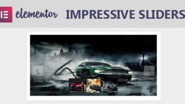 Download Impressive Sliders Pro for Elementor Page Builder  - Free Wordpress Plugin