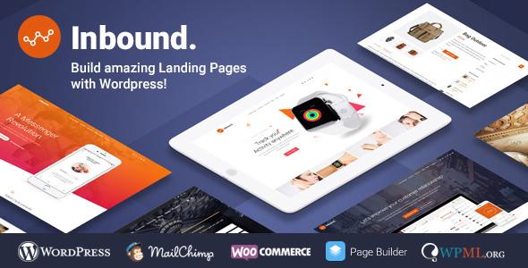 Download Inbound v.1.3.0 - WordPress Landing Page Theme Free