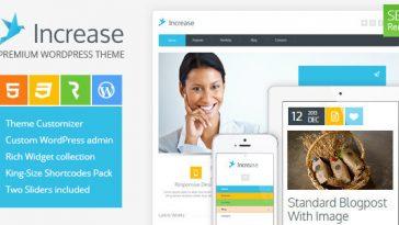 Download Increase - Premium Business WordPress Theme Free