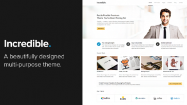 Download Incredible - Responsive WordPress Theme Free
